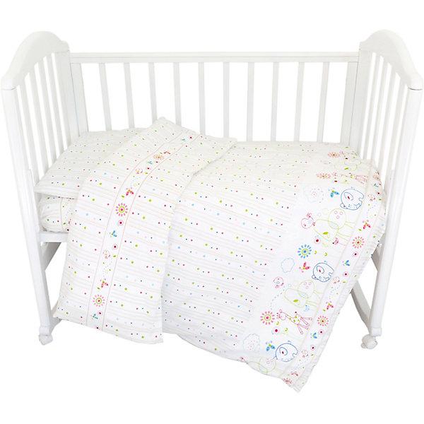 Baby Nice Комплект постельного белья Baby Nice Саванна постельное белье для малышей baby nice наволочка baby nice 60х40
