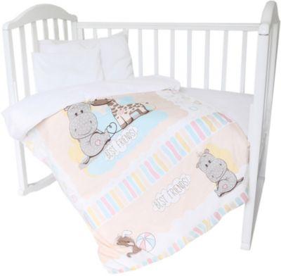 Комплект постельного белья Baby Nice  Лучшие друзья , артикул:9340134 - Детский текстиль