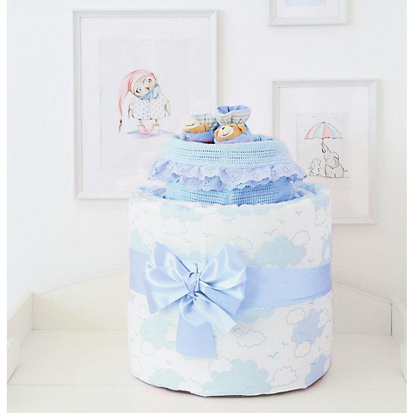 цена на Baby Nice Подарочный набор для новорожденного Baby Nice Облака голубой
