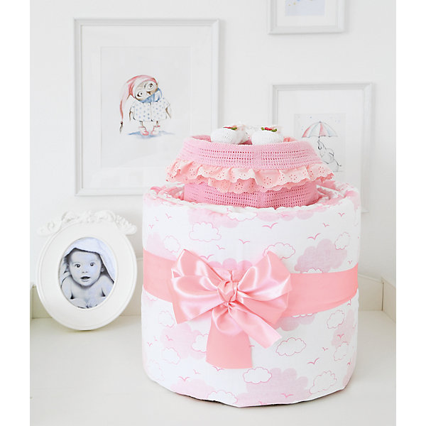 Baby Nice Подарочный набор для новорожденного Baby Nice Облака happy baby набор ложек для кормления baby spoon цвет мятный 2 шт