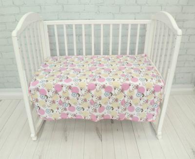 Плед флисовый Baby Nice  Мишки  розовый, артикул:9340419 - Детский текстиль
