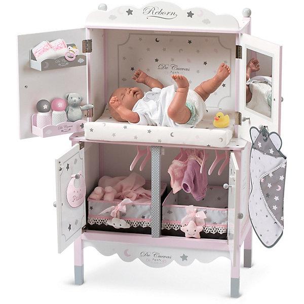DeCuevas Деревянный игровой центр с аксессуарами для куклы DeCuevas, серия Скай