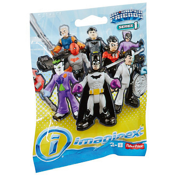 Купить Фигурка DC Super Heroes Imaginext серия 1, в закрытой упаковке, Mattel, Китай, Мужской