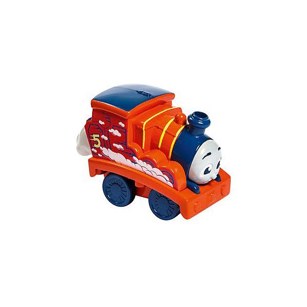 Mattel Паровозик Fisher-Price Томас и его друзья Джеймс fisher price кубики блоки паровозики