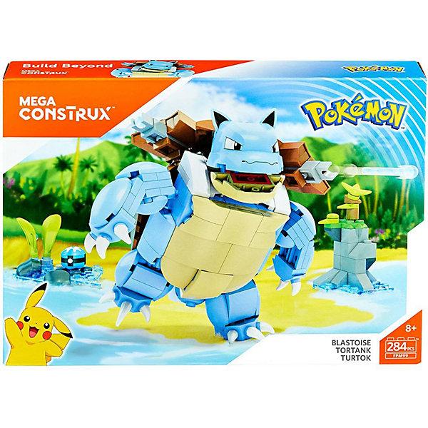 Купить Конструктор MEGA CONSTRUX Pokemon Бластойз, Mattel, Канада, Мужской