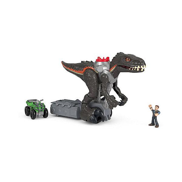 Купить Игровой набор Jurassic World Гигантский роботизированнй динозавр , Mattel, Китай, Мужской