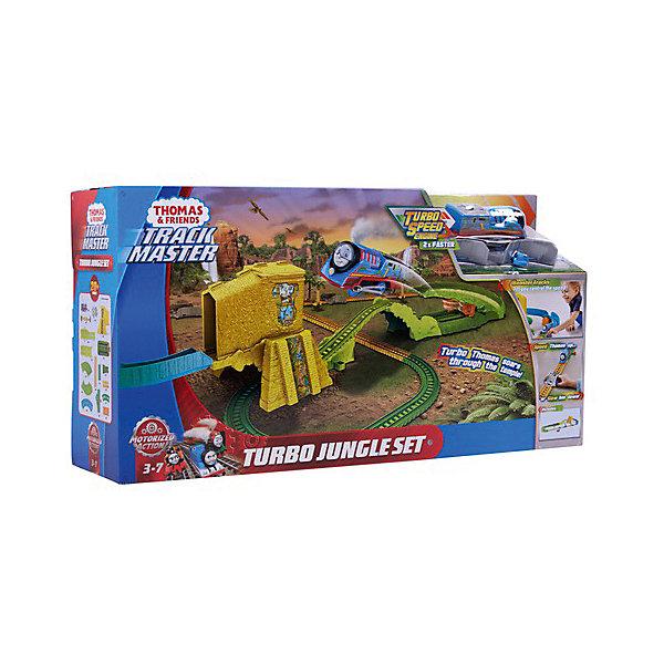 Mattel Железная дорога Fisher-Price Томас и его друзья Джунгли mattel паровозик томас fisher price томас и его друзья
