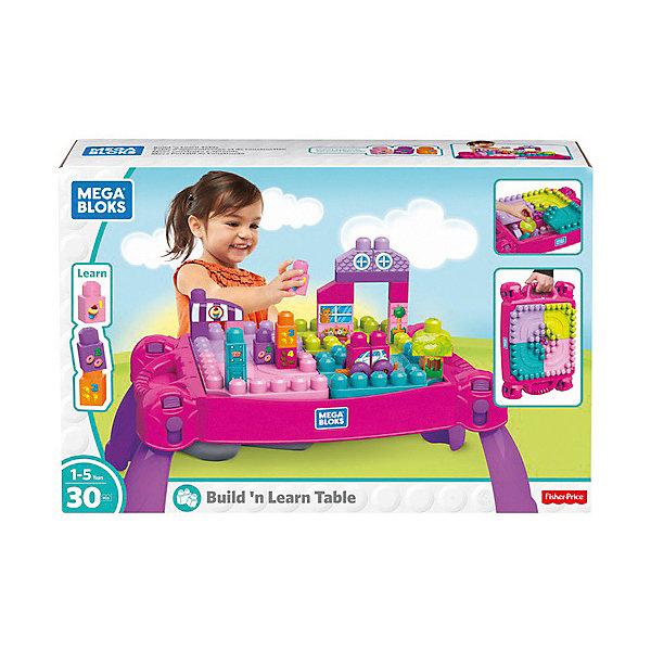Купить Стол для конструирования MEGA BLOKS «Мой первый конструктор», розовый, Mattel, Канада, Мужской