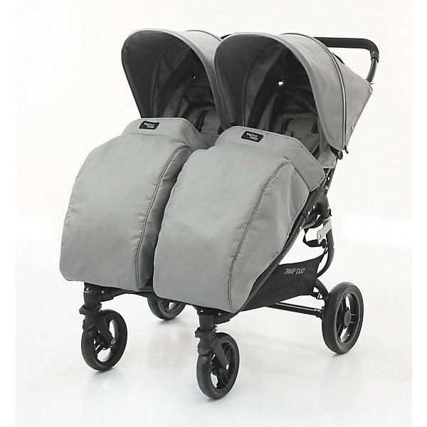 Купить Накидка на ножки Valco baby Boot Cover Snap Duo / Cool Grey, Китай, серый, Унисекс