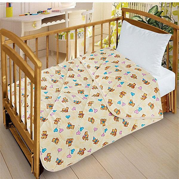 Letto Одеяло-покрывало Letto для детской кроватки SP25, ширина 110см. Облегченное, стеганое. 100% хлопок