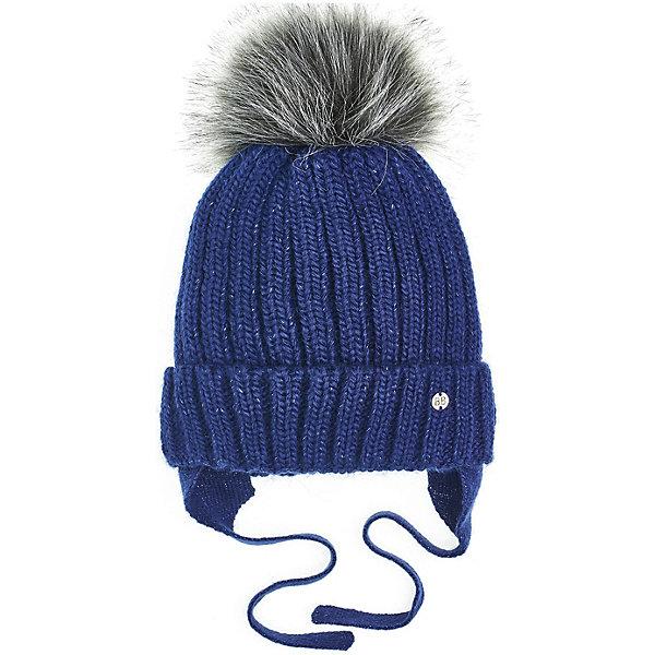 Button Blue Шапка Button Blue для девочки шапка для девочки button blue цвет серый 217bbgx73021900 размер 50