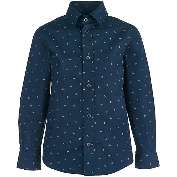 Купить Сорочка Button Blue для мальчика, Китай, синий, 128, 152, 158, 116, 146, 122, 140, 98, 110, 104, 134, Мужской