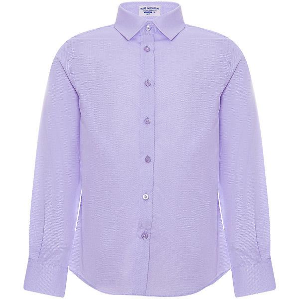 Купить Сорочка Button Blue для мальчика, Китай, лиловый, 122, 152, 104, 146, 140, 110, 158, 116, 98, 128, 134, Мужской