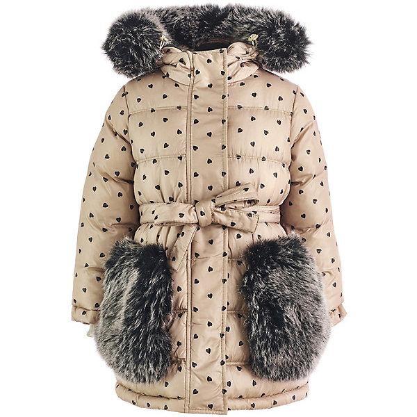 Купить Пальто Button Blue для девочки, Китай, бежевый, 104, 140, 128, 146, 158, 110, 122, 116, 152, 134, 98, Женский