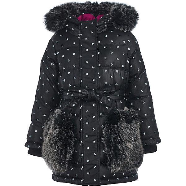Купить Пальто Button Blue для девочки, Китай, черный, 128, 122, 134, 140, 158, 152, 98, 110, 104, 116, 146, Женский