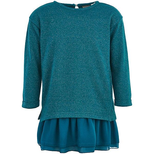 Купить Платье Button Blue для девочки, Китай, голубой, 152, 134, 146, 122, 140, 158, 110, 128, 98, 116, 104, Женский