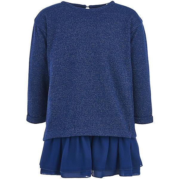 Купить Платье Button Blue для девочки, Китай, синий, 158, 104, 116, 152, 128, 134, 146, 140, 98, 110, 122, Женский