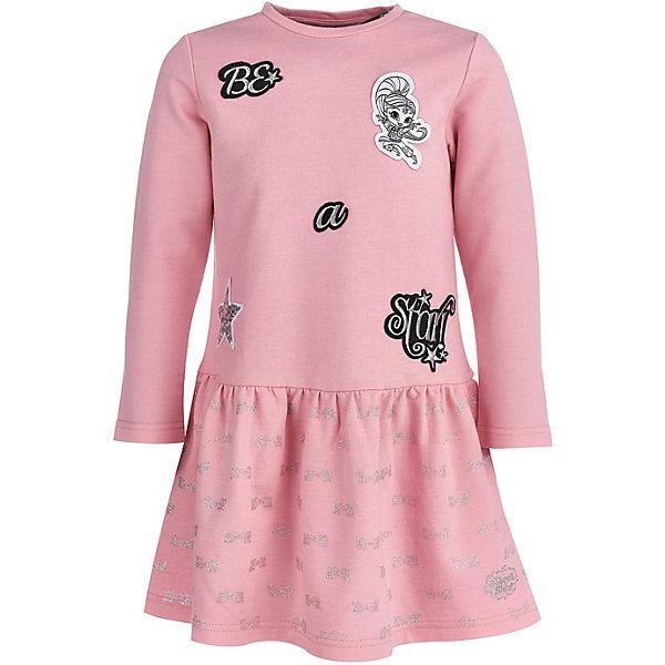 Купить Платье Button Blue для девочки, Китай, розовый, 110, 134, 104, 128, 116, 122, 98, Женский