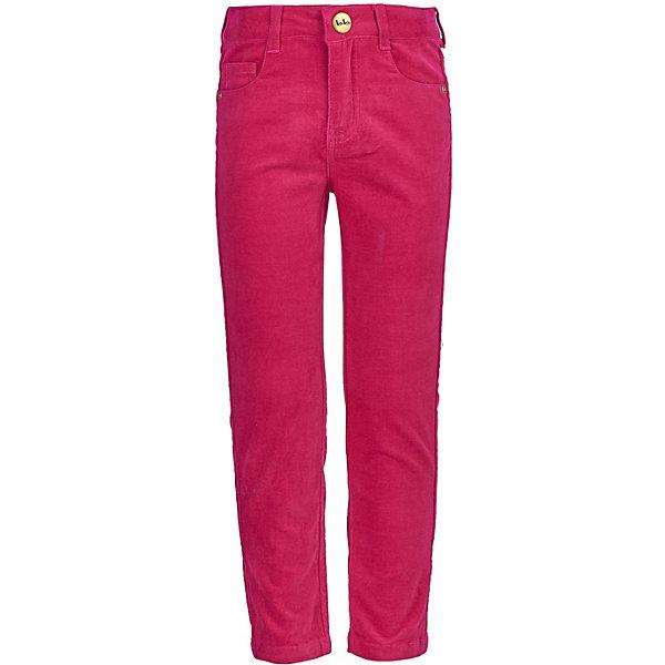 Купить Брюки Button Blue, Китай, розовый, 104, 110, 122, 128, 116, 98, Женский
