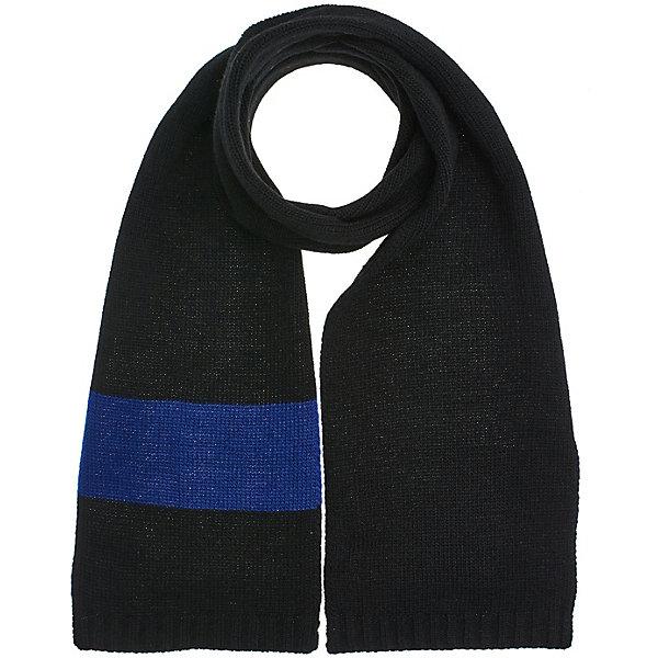 Купить Шарф Button Blue для мальчика, Россия, черный, one size, Мужской