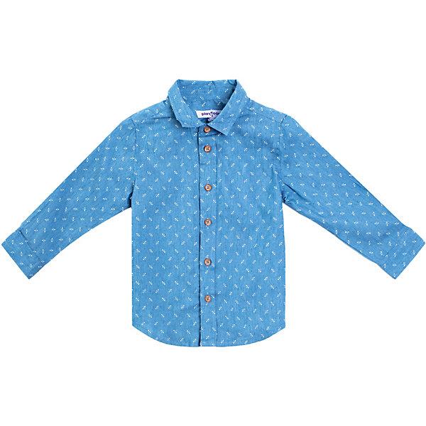 PlayToday Рубашка Play Today для мальчика брюки детские play today 368058f малиновый р 74
