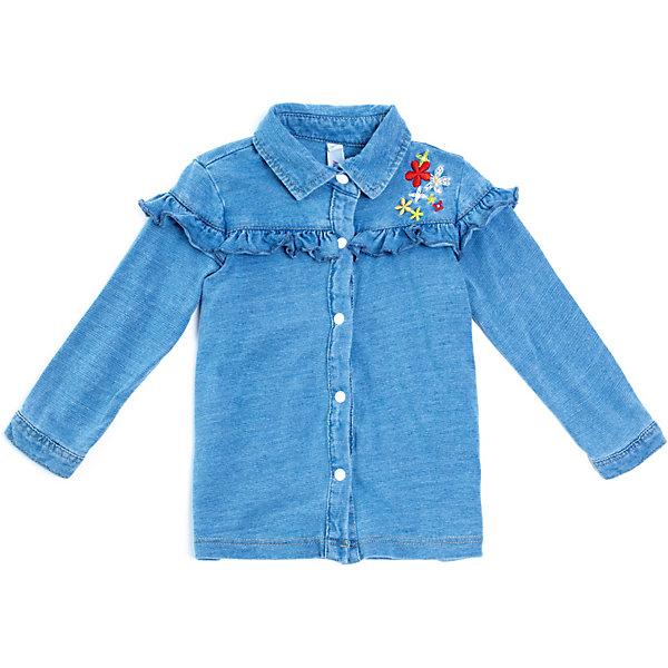 PlayToday Блузка Play Today для девочки блузка с вышивкой в стиле фолк