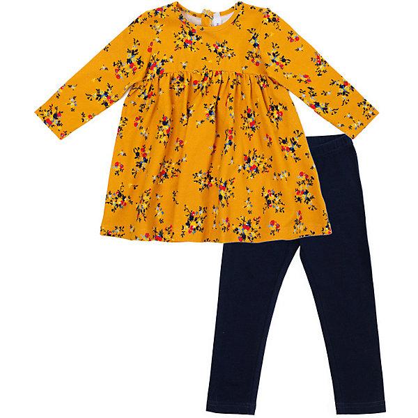 PlayToday Комплект:толстовка,брюки Play Today для девочки брюки детские play today 368058f малиновый р 74