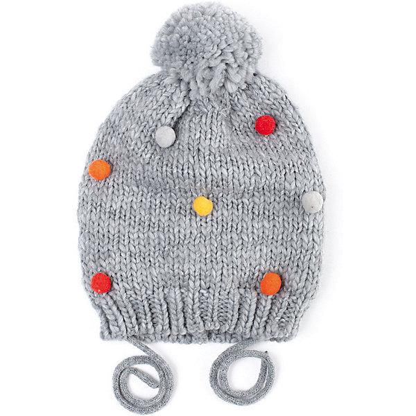 PlayToday Шапка Play Today для девочки ostin шапка с помпонами для девочек