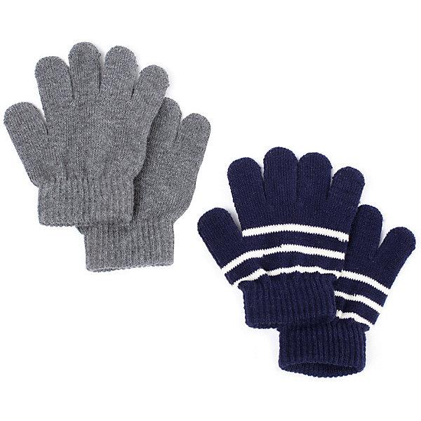 PlayToday Перчатки Play Today для мальчика eleganzza серые перчатки с отделкой