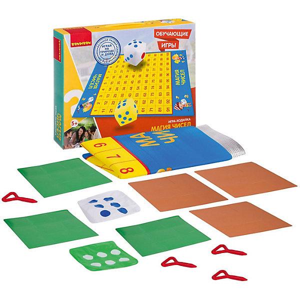 Обучающие игры Bondibon Игра-ходилка «МАГИЯ ЧИСЕЛ», серия игр большого размера 130x93x0, 15 см, Китай, Унисекс  - купить со скидкой