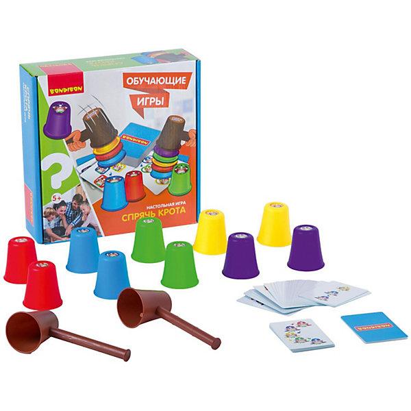 Bondibon Настольная игра Bondibon Спрячь крота bondibon мозаика с гвоздями и молоточком разноцветный