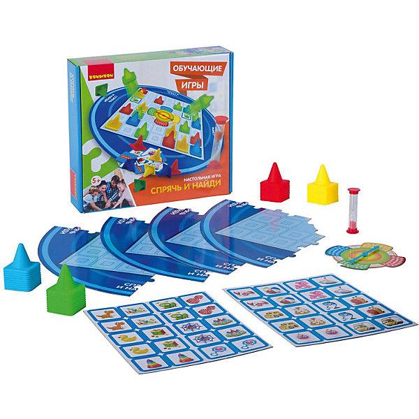 Bondibon Настольная игра Bondibon Спрячь и найди bondibon настольная игра bondibon разноцветные усы