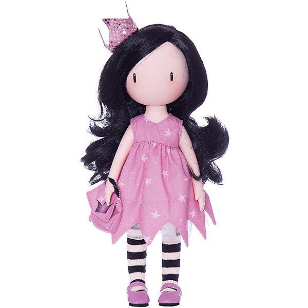 Кукла Paola Reina Горджусс Сноведение, 32 смКлассические куклы<br>Характеристики:<br><br>• возраст: от 3 лет<br>• в наборе: кукла, брошюра<br>• высота куклы: 32 см.<br>• материал: винил, нейлон, текстиль<br>• упаковка: подарочная картонная коробка с окошком<br><br>Кукла Горджусс Paola Reina (Паола Рейна) создана по образу, который придумала шотландская художница Сюзанн Вулкон. Это необычная кукла, ведь на ее лице не видно больших выразительных глаз или носика, губ, что не мешает наделять её своими уникальными чертами лица, характером и настроением.<br><br>У куклы длинные волосы, выполненные из высококачественного нейлона. Они красиво блестят и легко расчесываются. Ручки, ножки и голова подвижны (5 точек артикуляции).<br><br>Кукла изготовлена из приятного на ощупь высококачественного винила, который имеет лёгкий аромат «английского сада» с нотками жимолости и розы.<br><br>Материалы, из которых изготовлена кукла, прошли все необходимые проверки на безопасность для детей. Качество подтверждено нормами безопасности EN71 ЕЭС.