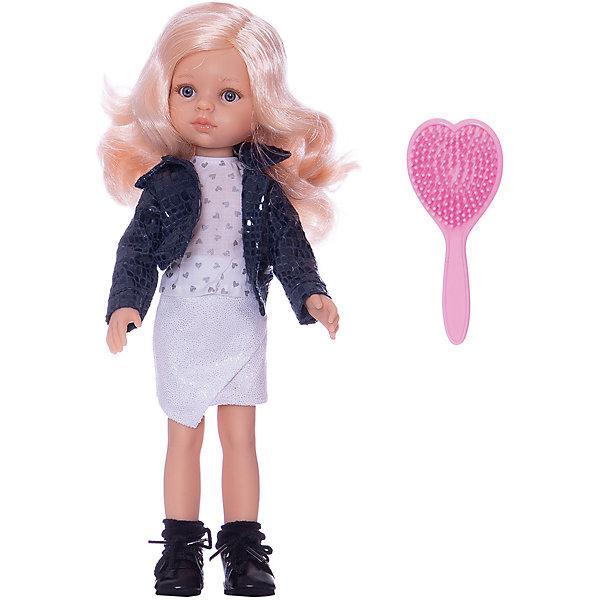Paola Reina Кукла Paola Reina Карла, 32 см paola reina кукла вики 47 см paola reina