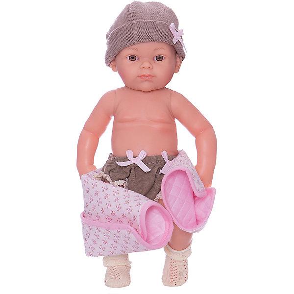 Купить Кукла Paola Reina Бэби, рюкзак и одеяльце, розовый, 32 см, Испания, Женский