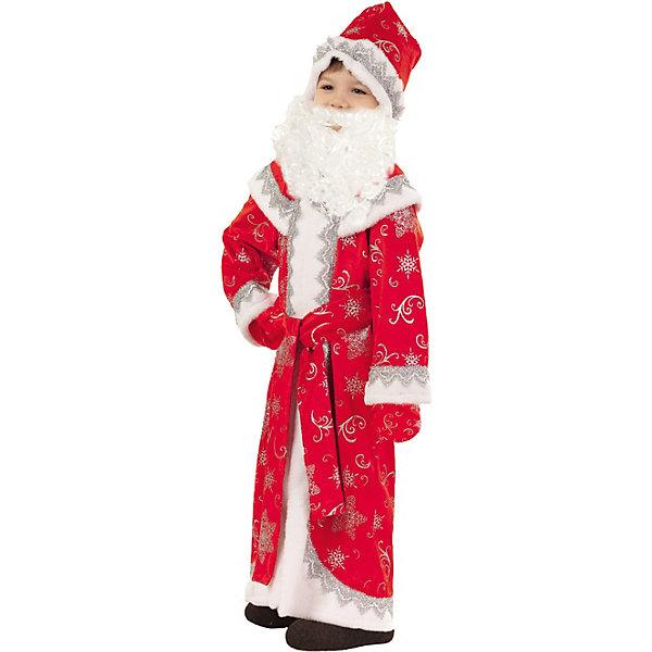 Пуговка Карнавальный костюм Дед Мороз Иванка, Пуговка комбинезон тузик дед мороз карнавальный терьер джека рассела кобель