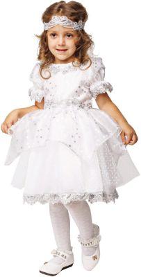 Карнавальный костюм  Снежинка , Пуговка, артикул:9383918 - Детские карнавальные костюмы и аксессуары