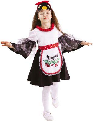 Карнавальный костюм  Сорока Глаша , Пуговка, артикул:9383922 - Детские карнавальные костюмы и аксессуары