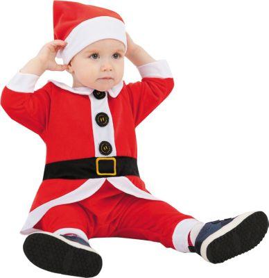 Карнавальный костюм  Санта , Пуговка, артикул:9383925 - Детские карнавальные костюмы и аксессуары