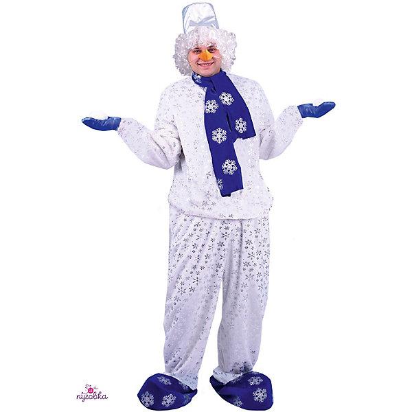 Пуговка Карнавальный костюм Пуговка Снеговик fever sienna wig pastel pink парик с длинными волосами