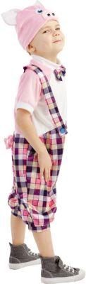 Карнавальный костюм  Поросёнок Ниф-ниф , Пуговка, артикул:9383931 - Детские карнавальные костюмы и аксессуары