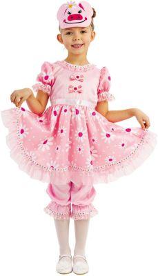 Карнавальный костюм  Свинка Дуся , Пуговка, артикул:9383954 - Детские карнавальные костюмы и аксессуары