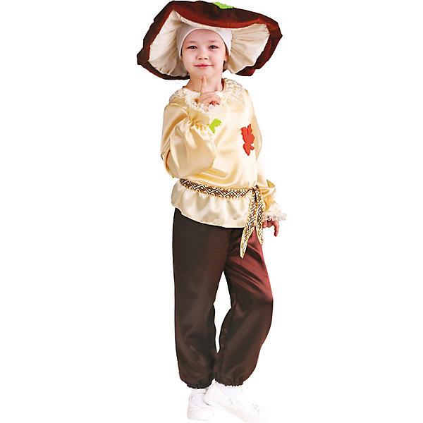 Пуговка Карнавальный костюм Белый Гриб