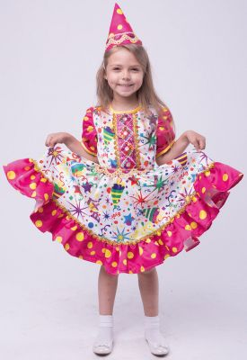 Карнавальный костюм  Хлопушка , Пуговка, артикул:9383965 - Детские карнавальные костюмы и аксессуары