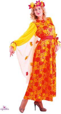 Карнавальный костюм  Осень Рябинушка  размер 164/48-50, Пуговка, артикул:9383980 - Детские карнавальные костюмы и аксессуары