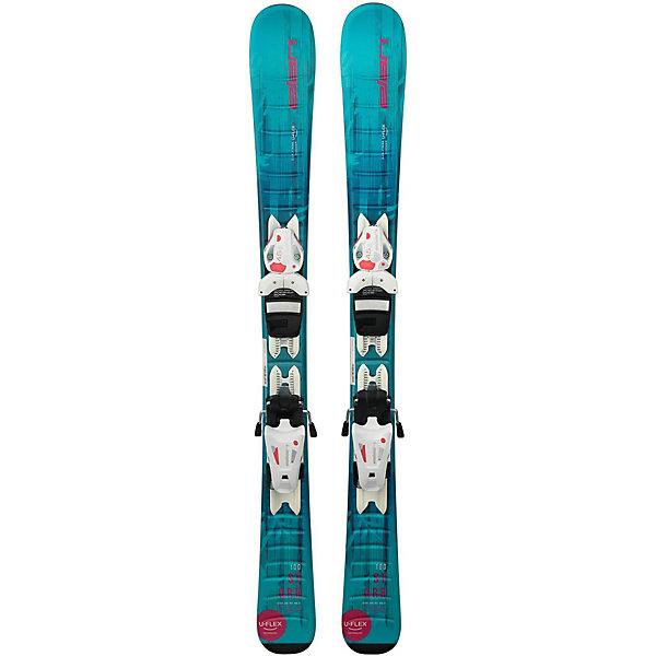 Elan Горные лыжи с креплениями Starr, 90 см