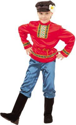 Карнавальный костюм  Ванюшка , Пуговка, артикул:9383998 - Детские карнавальные костюмы и аксессуары