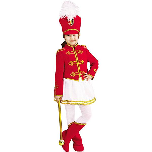 Купить Карнавальный костюм Пуговка Мажоретка , Россия, 110, 116, 122, Женский