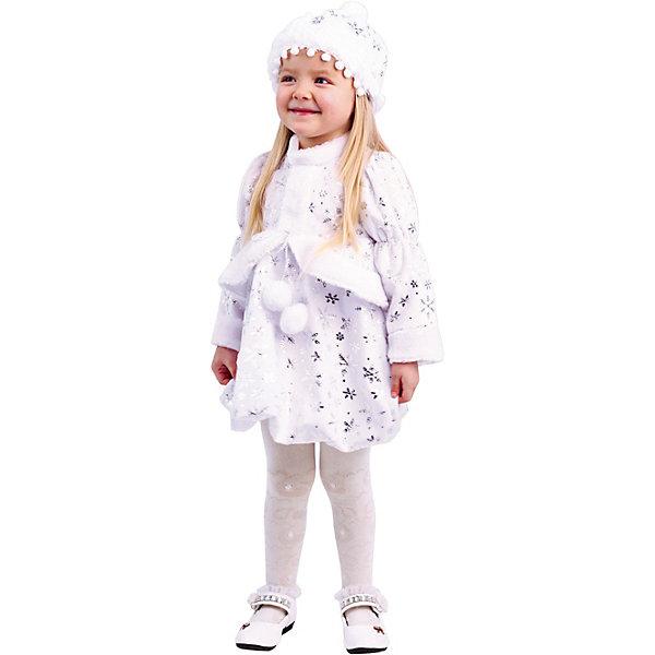Купить Карнавальный костюм Малышка Снегурочка , Пуговка, Россия, 104, Женский
