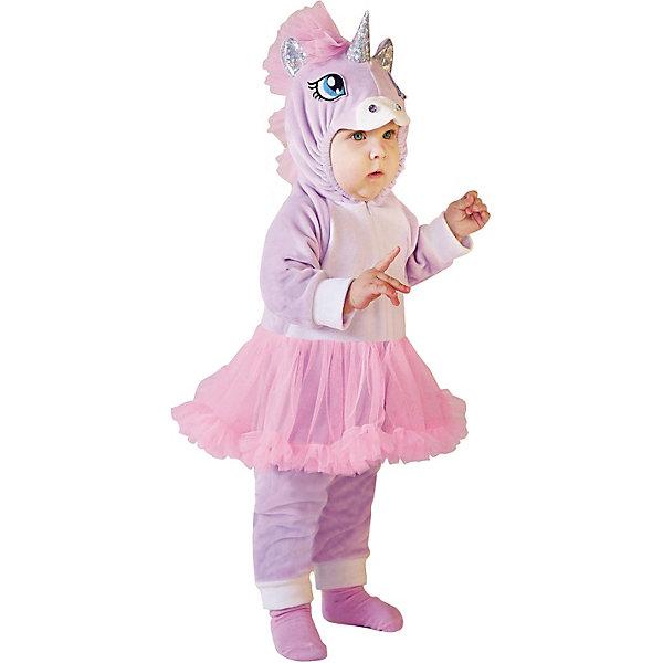Пуговка Карнавальный костюм Пони-единорог, Пуговка incity карнавальный костюм единорог